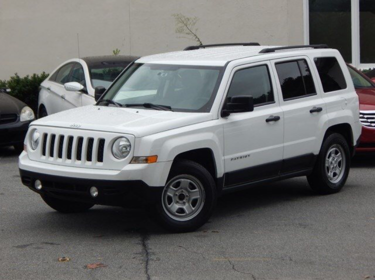 Jeep Front View